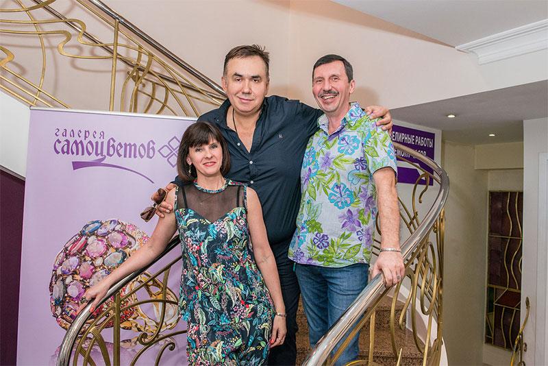 Стас Садальский в ювелирном салоне DENISOV & GEMS