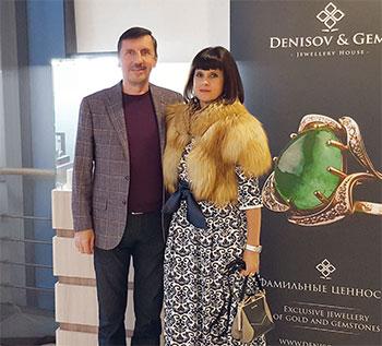 Надежда Бабкина и «Императрица» Denisov & Gems